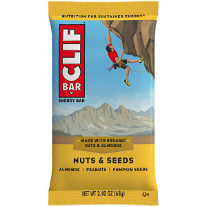 CLIF Bar, Nuts and Seeds, 2.4 oz. bar (12 Count)