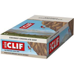 CLIF Bar, Coconut Chocolate Chip, 2.4 oz. (12 Count)