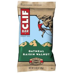 CLIF Bar, Oatmeal Raisin Walnut, 2.4 oz. (12 Count)
