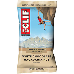 CLIF Bar, White Chocolate Macadamia, 2.4 oz. (12 Count)