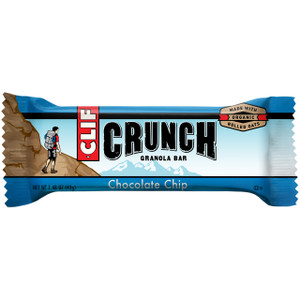 CLIF CRUNCH, Granola Bar, Chocolate Chip, 1.5 oz. Bars (5 Count)