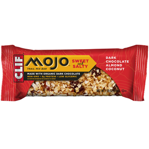 CLIF Mojo Sweet & Salty, Dark Chocolate Almond Coconut Trail Mix Bar, 1.59 oz. Bars (12 Count)