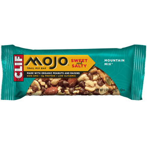CLIF Mojo Sweet & Salty, Mountain Mix Trail Mix Bar, 1.59 oz. Bars (12 Count)