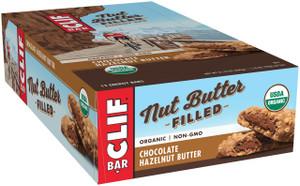 CLIF Nut Butter Filled. Chocolate Hazelnut Butter, 1.76 oz. Bar (12 Count)