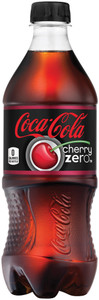 Coca Cola, Cherry Coke Zero 20.0 oz. Bottle (1 Count)