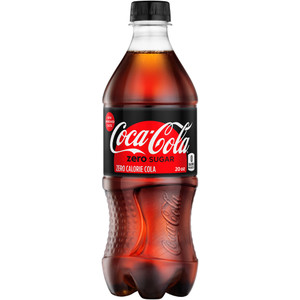 Coca Cola, Coke Zero Sugar, 20.0 oz. Bottle (1 Count)