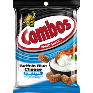 Combos, Buffalo Blue Cheese, 6.3 oz. Peg Bag (1 Count)
