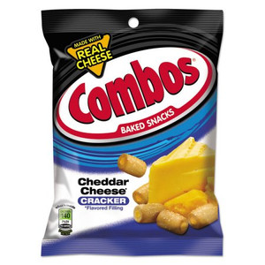 Combos, Cheddar Cheese Crackers, 7 oz. Bag (1 Count)
