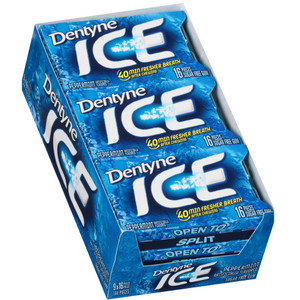 Dentyne Ice, Peppermint Sugar Free Gum, 16 piece pack (9 Count)