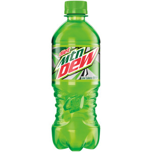 Diet Mountain Dew , 20.0 oz. Bottle (1 Count)