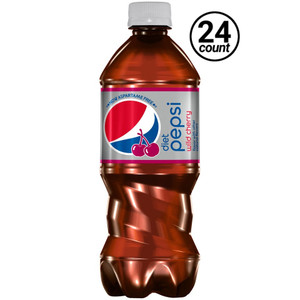 Diet Pepsi Wild Cherry, 20.0 oz. Bottle (24 Count)