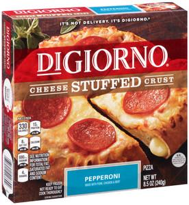 DiGiorno, Cheese Stuffed Crust, Pepperoni, 8.5 oz. Pizza (1 Count)