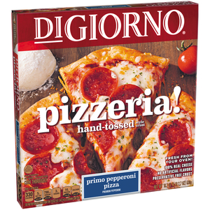Digiorno, Pizzeria! Thin Crust Primo Pepperoni Pizza, 18 oz. (1 Count)
