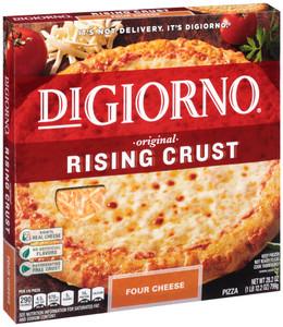 Digiorno, Rising Crust, 4 Cheese Pizza, 28.2 oz. (1 Count)