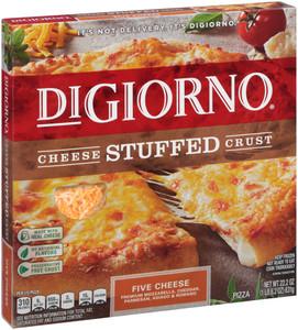 DiGiorno, Stuffed Crust, 5 Cheese Pizza, 12 Inch Pizza (1 Count)