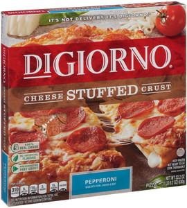 DiGiorno, Stuffed Crust, Pepperoni Pizza, 12 Inch Pizza (1 Count)