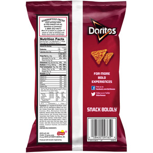Doritos, Nacho, 2.88 oz. Bag (1 Count)