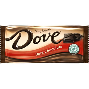 Dove, Silky Smooth Dark Chocolate, 3.3 oz. Bars (12 Count)