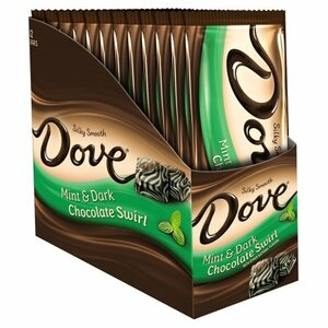 Dove, Silky Smooth Mint & Dark Chocolate Swirl, 3.3 oz. Bar (Case of 12)