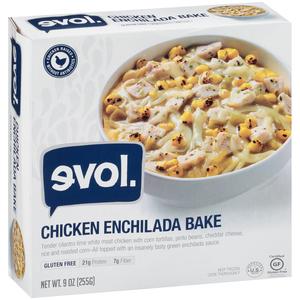 EVOL, Chicken Enchilada Bake, 9.0 oz. (1 Count)