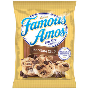 Famous Amos, Chocolate Chip Bite Size Cookies 2.0 oz. (1 Count)