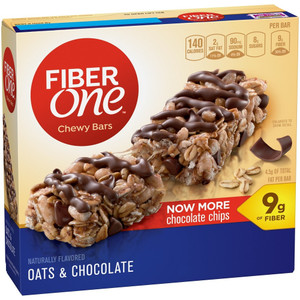 Fiber One, Oats and Chocolate Bar, 1.4 oz. (16 Count)