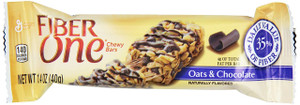 Fiber One, Oats & Chocolate Bar, 1.4 oz. Pack (1 Count)