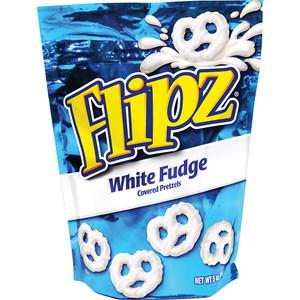 Flipz, White Fudge Pretzel, 5.0 oz. Stand Up Pouch (1 Count)