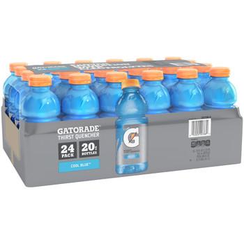 Gatorade, Cool Blue, 20 oz. Bottles (24 Count Case)