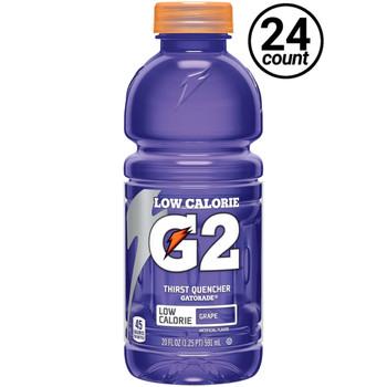 Gatorade, G2 Grape, 20 oz. Bottles (24 Count Case)