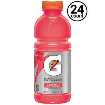 Gatorade, Strawberry Watermelon, 20.0 oz. Bottle (24 Count)