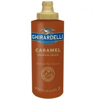 Ghirardelli, Caramel Sauce, 17.0 oz. (1 Count)