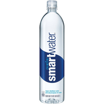 Glaceau, Smart Water, 1 Liter (1 Count)