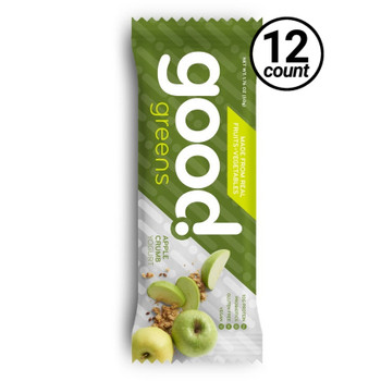Good Greens Greek Yogurt Bar, Apple Crumb, 1.76 oz. Bar (12 Count)