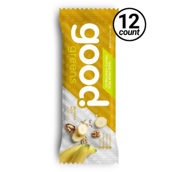 Good Greens Greek Yogurt Bar, Banana Nut, 1.76 oz. Bar (12 Count)