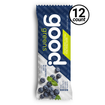Good Greens Greek Yogurt Bar, Blueberry, 1.76 oz. Bar (12 Count)
