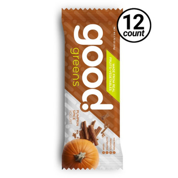 Good Greens Greek Yogurt Bar, Pumpkin Spice, 1.76 oz. Bar (12 Count)