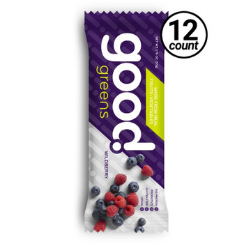 Good Greens Greek Yogurt Bar, Wildberry, 1.76 oz. Bar (12 Count)