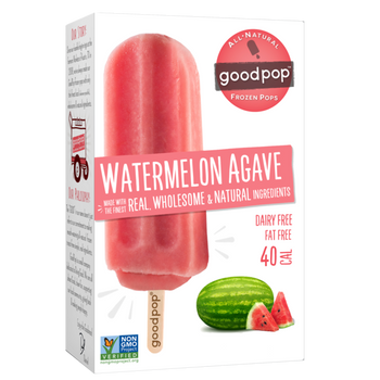 GoodPop, Watermelon Agave, 2.75 oz. (25 Count)