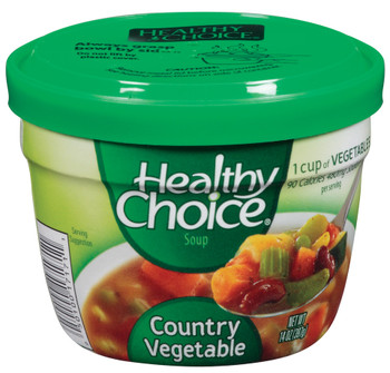 Healthy Choice, Country Vegetable, 14 oz. Microwavable Soup Bowl (1 Count)