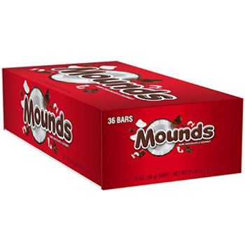 Hershey's, Mounds Candy Bar, 1.75 oz. (36 Count)
