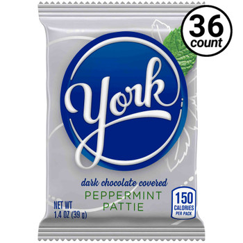 Hershey's, York Peppermint Pattie, 1.4 oz. (36 Count)