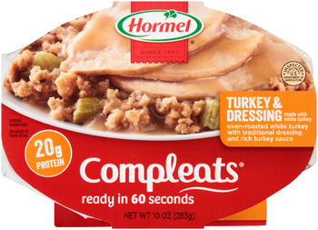 Hormel, Compleats, Turkey & Dressing, 10 oz. Tray (1 Count)