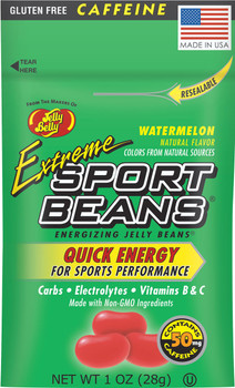 Jelly Belly, Extreme Sport Beans, Watermelon - 1.0 oz. (24 Count)