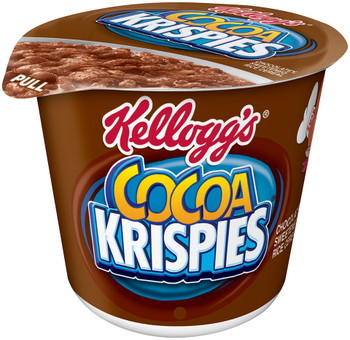 Kellogg's Cereal in a Cup, Cocoa Krispies, 2.3 oz. Bowl (1 Count)