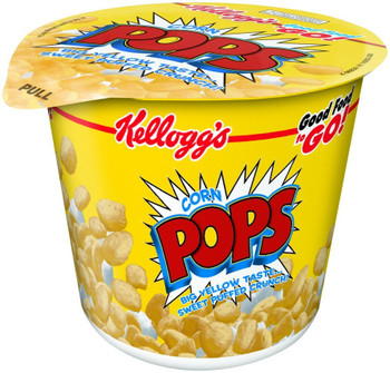 Kellogg's Cereal in a Cup, Corn Pops, 1.5 oz. Bowl (1 Count)