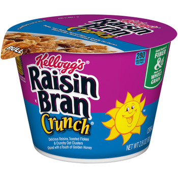 Kellogg's Cereal in a Cup, Raisin Bran Crunch, 2.8 oz. Bowl (1 Count)