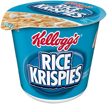 Kellogg's Cereal in a Cup, Rice Krispies, 1.3 oz. Bowl (1 Count)
