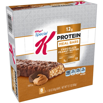 Kellogg's Special K Protein Meal Bar, Chocolate Peanut Butter, 1.59 oz. Bar (8 Count)
