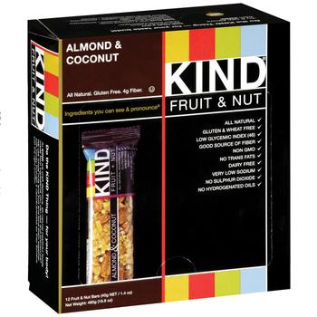 KIND, Almond & Coconut, 1.4 oz. Bars (12 Count)